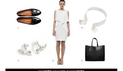 Stylizacje black&white - wiosna/lato 2013