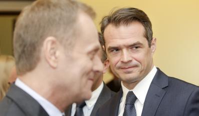 Donald Tusk i Sławomir Nowak