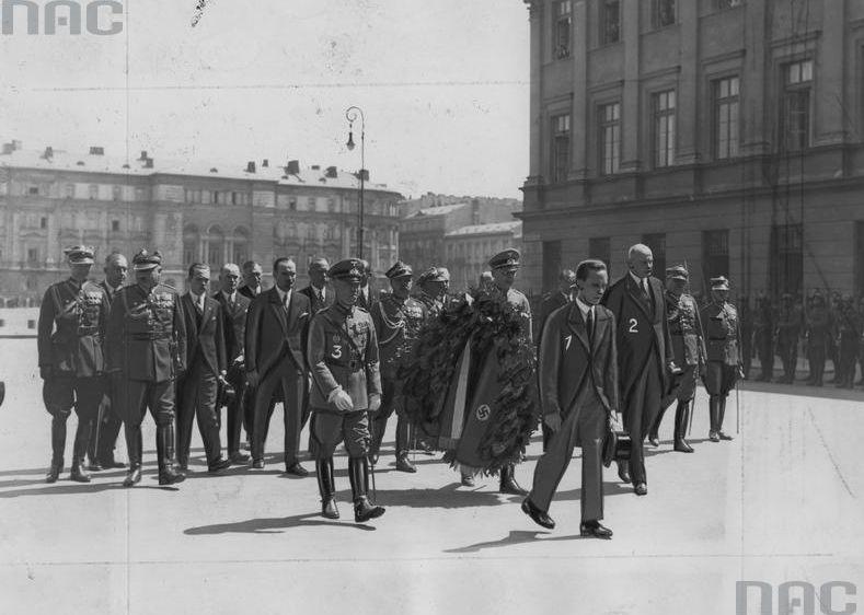 Goebbels w Warszawie