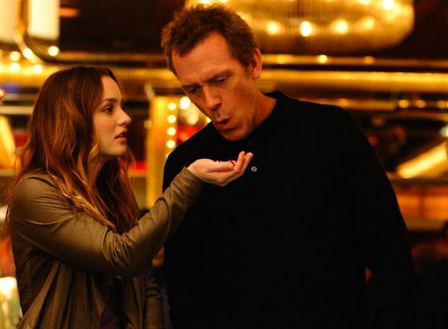 """Hugh Laurie i Leighton Meester w filmie """"Córka mojego kumpla"""""""