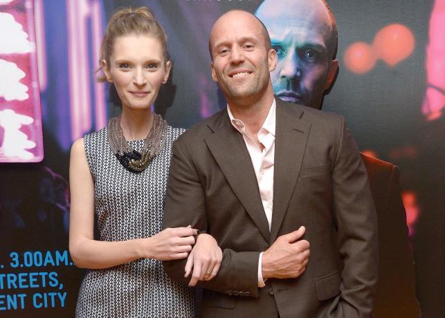 """Agata Buzek i Jason Statham na premierze """"Kolibra"""""""
