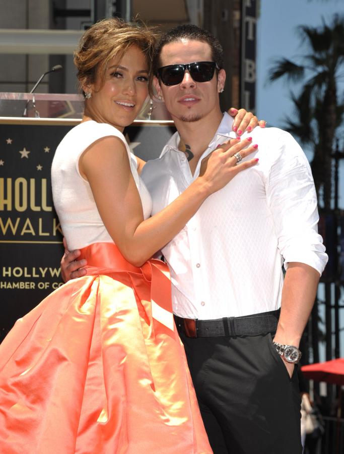 Jennifer Lopez i jej partner Casper Smart