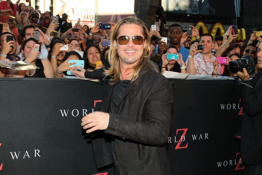 Brad Pitt kupił sobie myśliwiec typu Spitfire