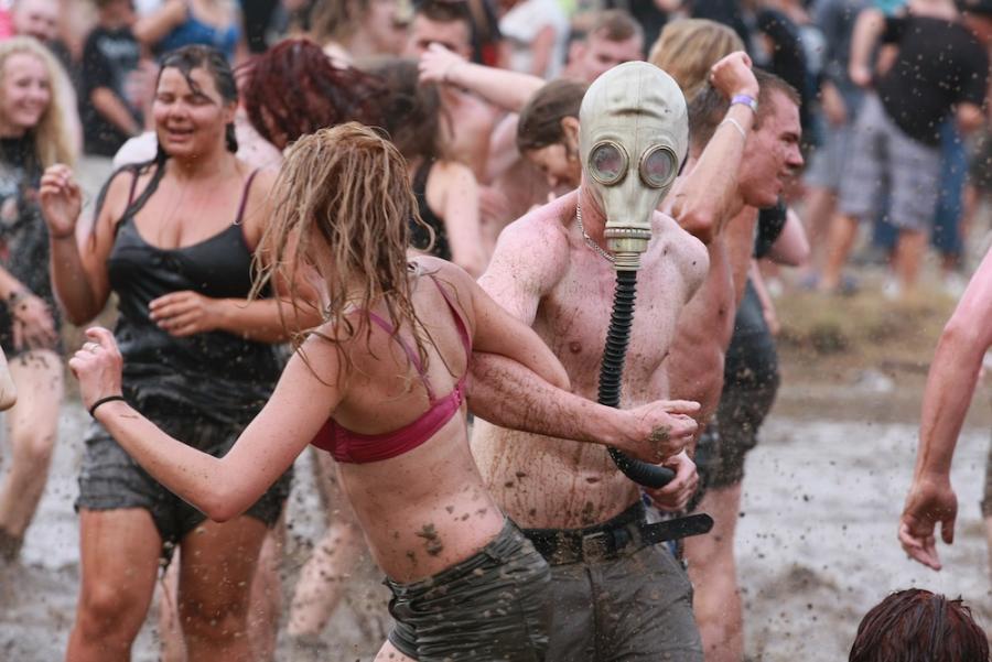 Miłość, rock'n'roll i zabawy w błocie na 19. Przystanku Woodstock