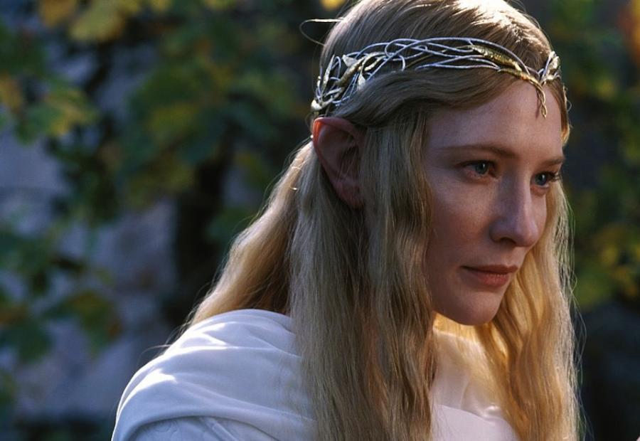 """Cate Blanchett we """"Władcy Pierścieni"""""""