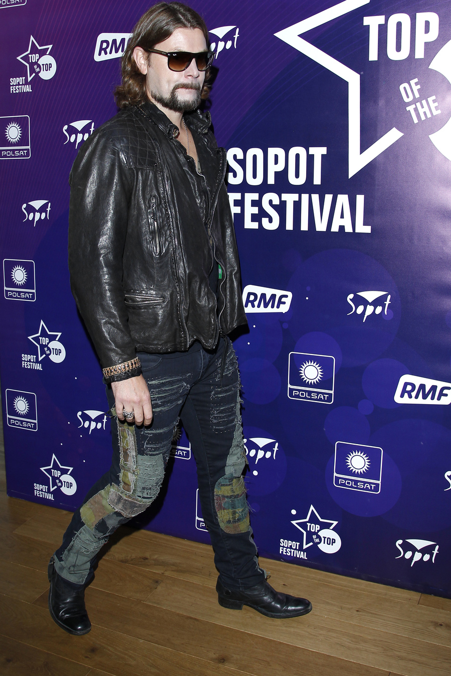 Rea Garvey za kulisami Sopot TOP of the TOP Festival 2013