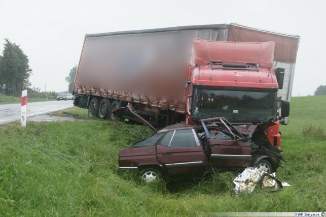 Wypadek pod Augustowem