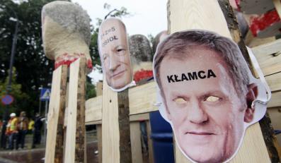 Związkowcy demonstrowali w Warszawie