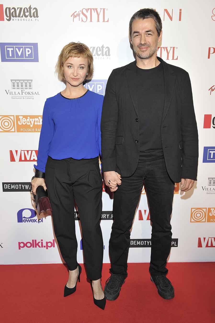 """Gabriela Muskała i Greg Zgliński na premierze filmu """"Wałęsa: Człowiek z nadziei"""""""