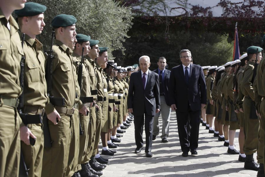 Prezydent w Izraelu