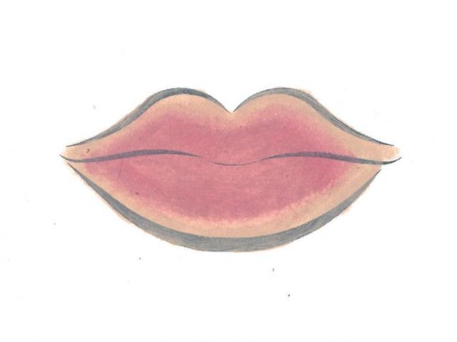 Usta pełne