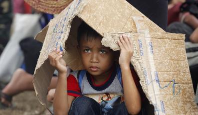 Filipiny po przejściu tajfunu Haiyan