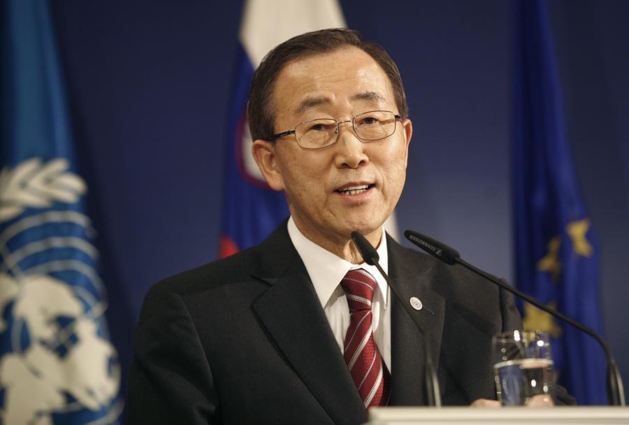 Sekretarz generalny ONZ Ban Ki Moon