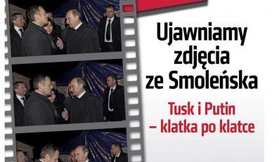 Zdjecie ze spotkania Putin-Tusk