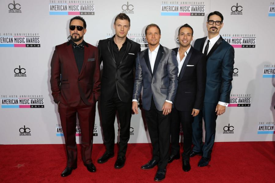 Backstreet Boys na gali 40th American Music Awards w Los Anles w 2012 roku