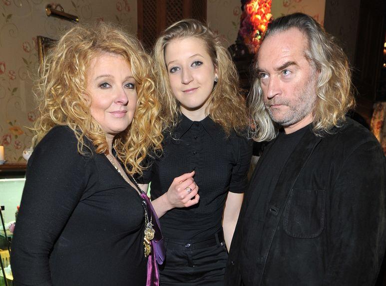 Magda Gessler z córką Larą i mężem, Piotrem Gesslerem