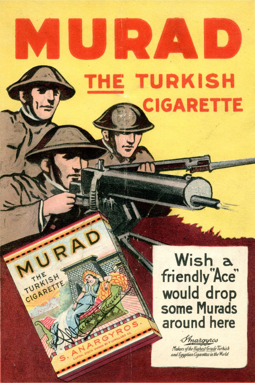 "Papierosy ""Murad"", rok 1919"