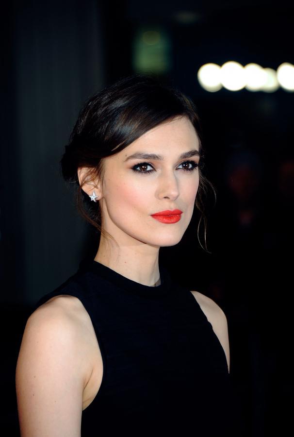 """Keira Knightley na premierze """"Jack Ryan: Teoria chaosu"""" w Londynie"""