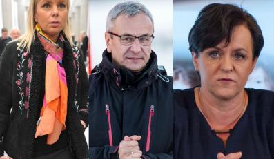 Elżbieta Bieńkowska, Andrzej Biernat i Joanna Kluzik-Rostkowska