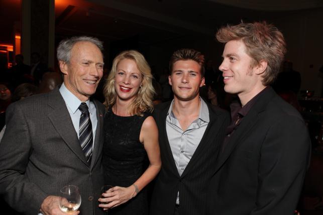 Clint Eastwood i jego dzieci: Alison, Scott i Kyle