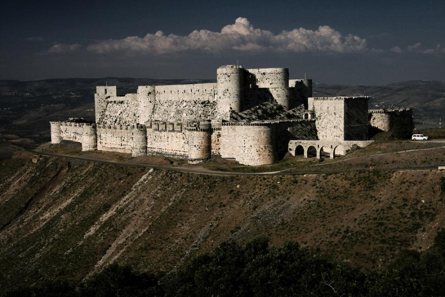 Zamek Krak de Chevaliers, Syria