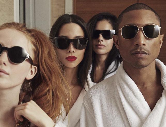 """Pharrell Williams z dziewczynami na okładce nowej płyty zatytułowanej """"G I R L"""""""