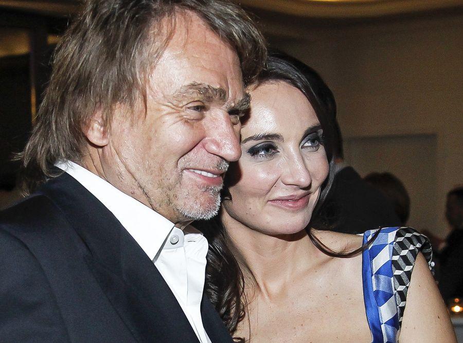 Jan Kulczyk i Dominika Kulczyk