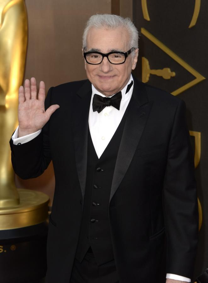 Martin Scorsese na gali Oscarów 2014