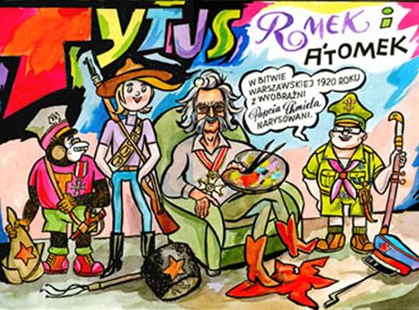 Nowe przygody Tytusa, Romka i A\'Tomka