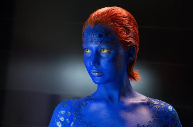 """Jennifer Lawrence w filmie """"X-Men: Przeszłość, która nadejdzie"""""""
