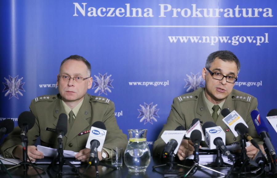 Smoleńska konferencja prokuratury