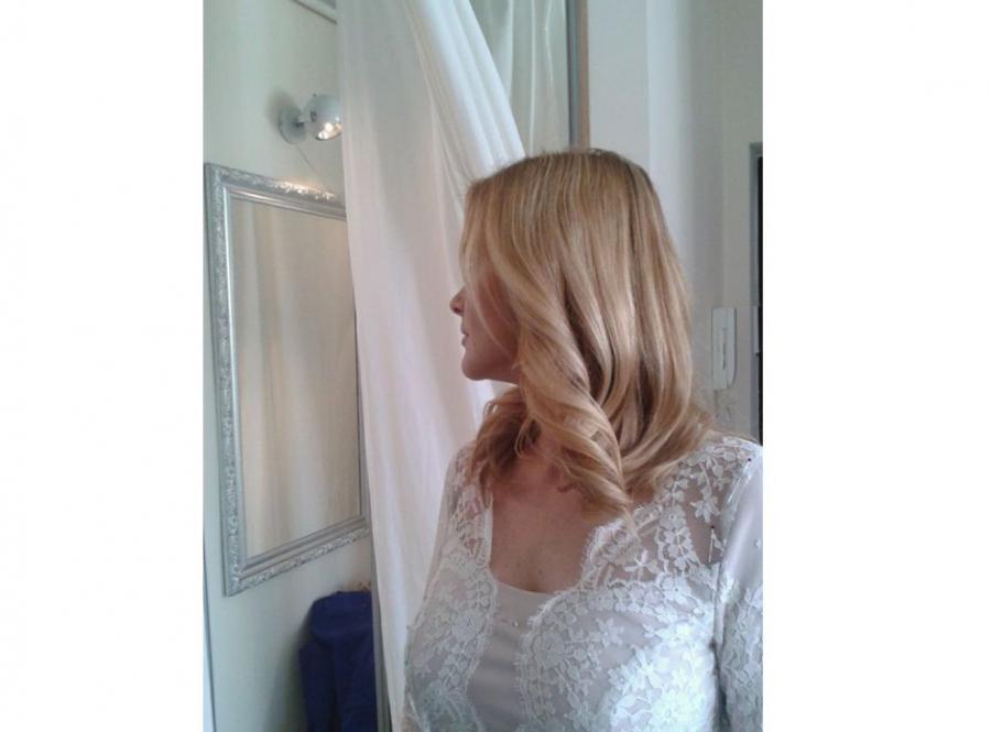 suknia ślubna Moniki Richardson / zdjęcie z profilu projektantki