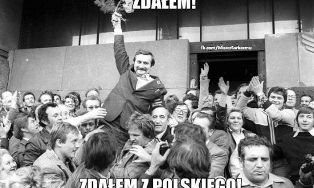Balcerowicz i Wałęsa o swoich maturach [MEMY]