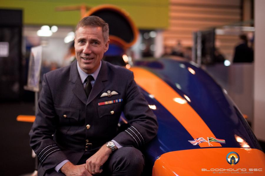 Andy Green i Bloodhound SSC