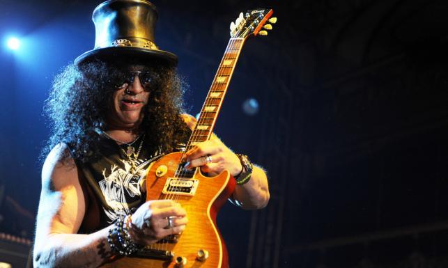 Slash, najbardziej rock\'n\'rollowy 50-latek świata [ZDJĘCIA]