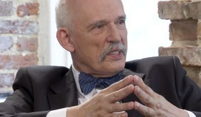 Janusz Korwin-Mikke w programie kafeteria.tv