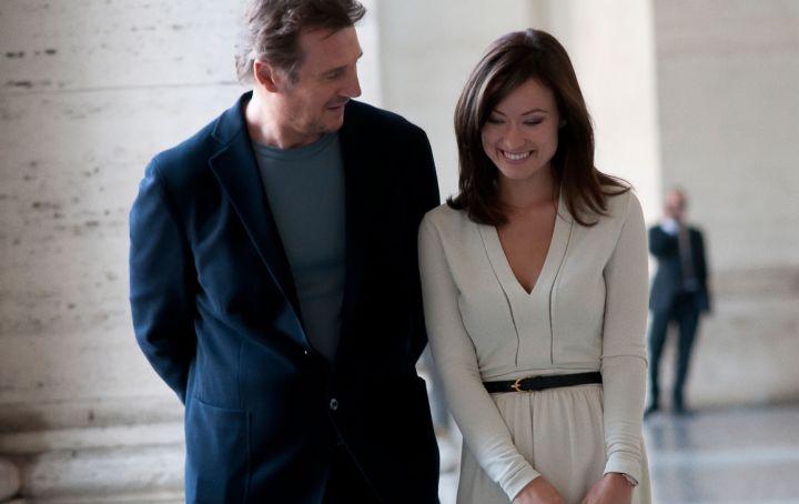 Olivia Wilde i Liam Neeson w filmie \