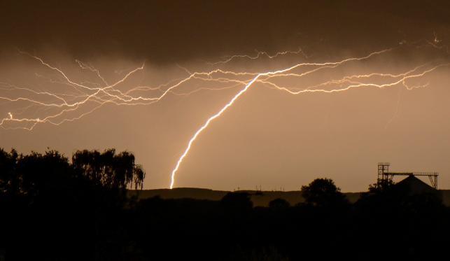 Burza nad Soest w Niemczech, 9 czerwca