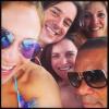 Jennifer Lopez w towarzystwie znajomych