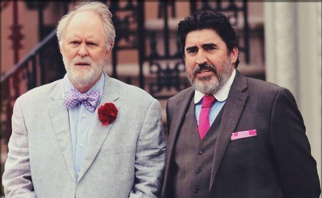 "John Lithgow i Alfred Molina w filmie ""Love Is Strange"""