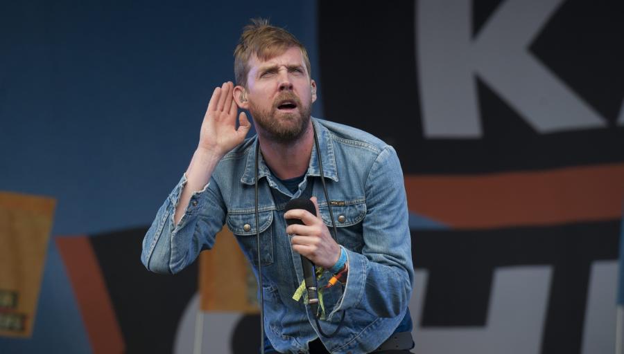 Ricky Wilson na Glastonbury Festival 2014
