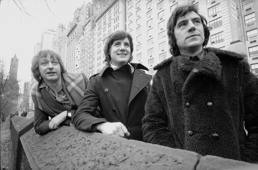Monty Python prosto z archiwum: Graham Chapman, Michael Palin i Terry Jones w 1975 roku