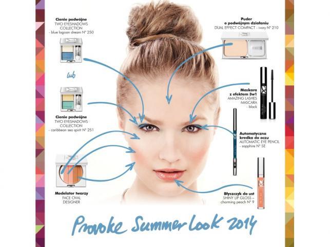 Makijaż na lato 2014 - propozycja marki Dr Irena Eris PROVOKE
