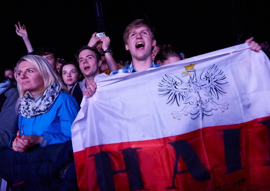 Publiczność podczas zespółu Haim
