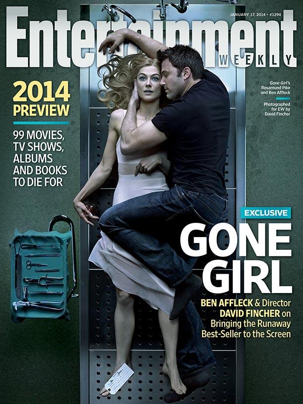 "Ben Affleck i Rosamund Pike na okładce ""Entertainment Weekly"""