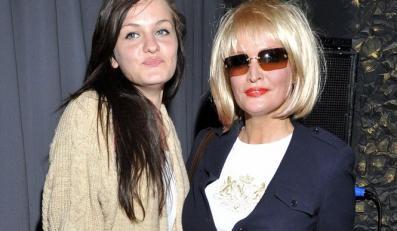 Adrianna Biedrzyńska z córką Michaliną