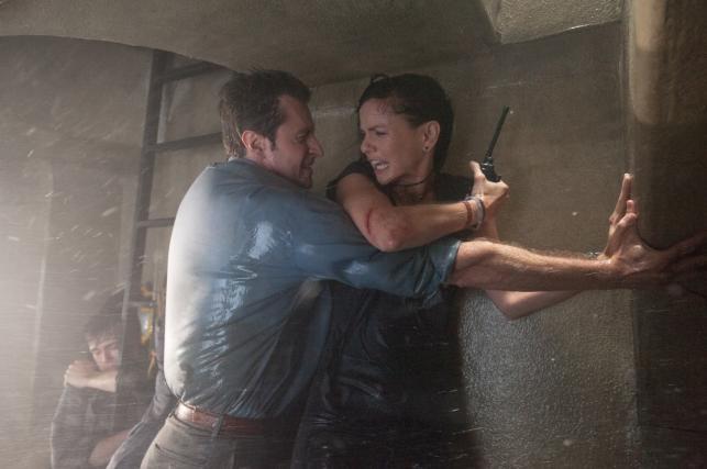 "Sarah Wayne Callies i Richard Armitage w filmie ""Epicentrum"""
