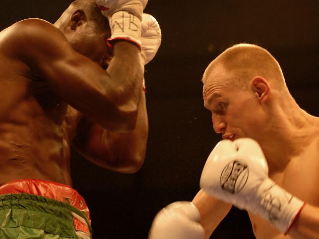 Ghańczyk więcej się zasłaniał niż boksował