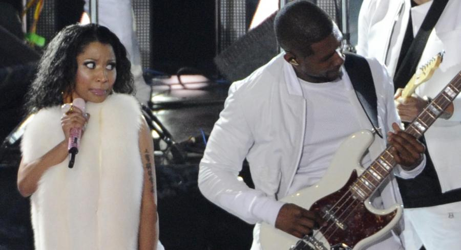 Usher i Nicki Minaj na scenie MTV Video Music Awards 2014