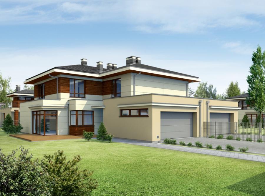 Tak będą wyglądały domy w Oazie Kampinos
